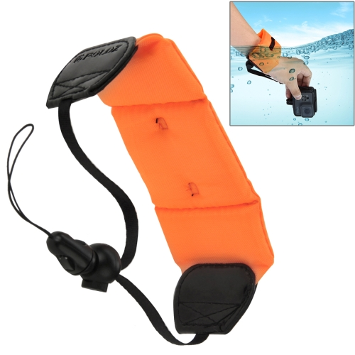 PULUZ Underwater Photography Floating Bobber Wrist Strap for GoPro NEW HERO /HERO6 /5 /5 Session /4 Session /4 /3+ /3 /2 /1, Xiaoyi and Other Action Cameras, Length: 20cm feiyu tech wg2 fy wearable gimbal waterproof stabilizer for gopro hero 5 session 4 session and similar size sports camera