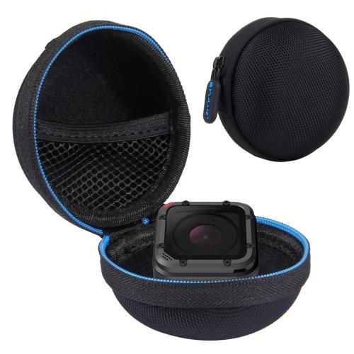 PULUZ Super Mini Storage Case Box for GoPro HERO5 Session /4 Session / Session(Black) shunwei sd 1604 mini flexible rolling door storage organizer case box black