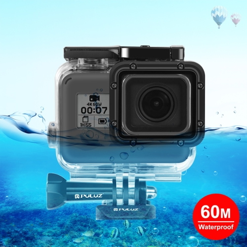 PULUZ for GoPro HERO6 /5 30m Underwater Waterproof Housing Diving Protective Case with Buckle Basic Mount & Screw цена