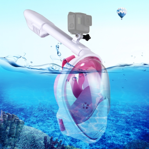 Buy PULUZ 260mm Tube Water Sports Diving Equipment Full Dry Snorkel Mask for GoPro HERO6 /5 /5 Session /4 Session /4 /3+ /3 /2 /1, Xiaoyi and Other Action Cameras, S/M Size, Pink for $22.08 in SUNSKY store