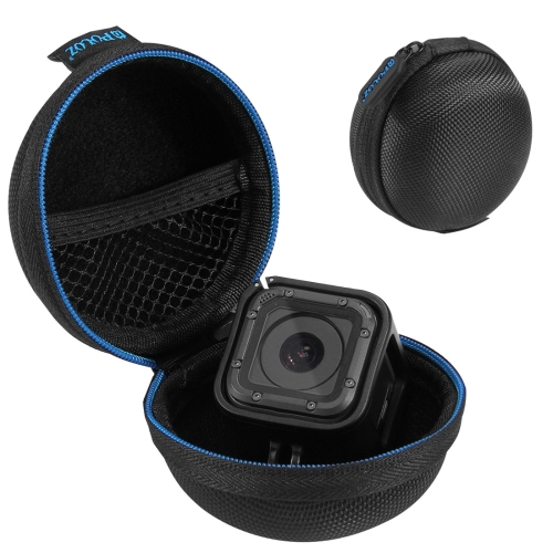 PULUZ Super Mini Storage Case Box with Carabine for GoPro HERO5 Session /4 Session / Session(Black) water resistant drop protection storage box case container for chips batteries gadgets