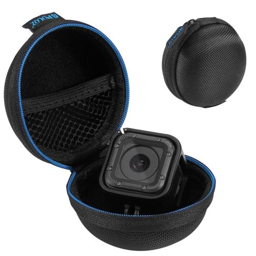 PULUZ Super Mini Storage Case Box with Carabine for GoPro HERO5 Session /4 Session / Session(Black) shunwei sd 1604 mini flexible rolling door storage organizer case box black