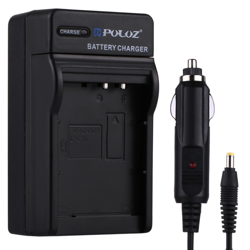 Buy PULUZ Digital Camera Battery Car Charger for Canon LP-E10 Battery for $3.30 in SUNSKY store