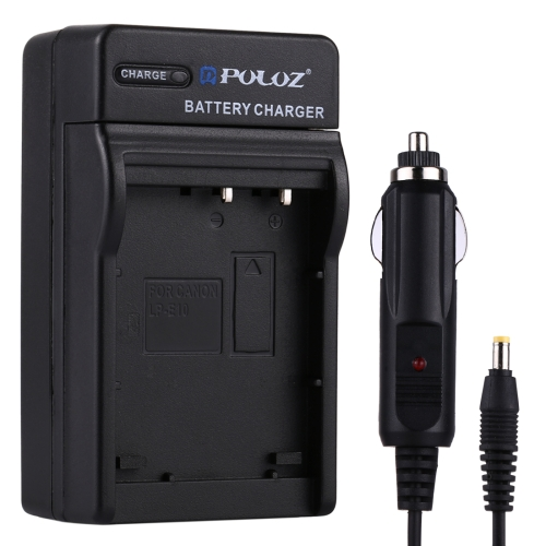 Buy PULUZ Digital Camera Battery Car Charger for Canon LP-E12 Battery for $3.30 in SUNSKY store