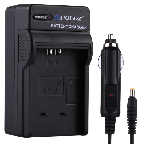 Buy PULUZ Digital Camera Battery Car Charger for Canon NB-11L Battery for $3.30 in SUNSKY store