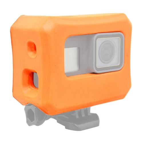 [US Stock] PULUZ Floaty Case with Backdoor for GoPro HERO7 /6 /5(Orange)
