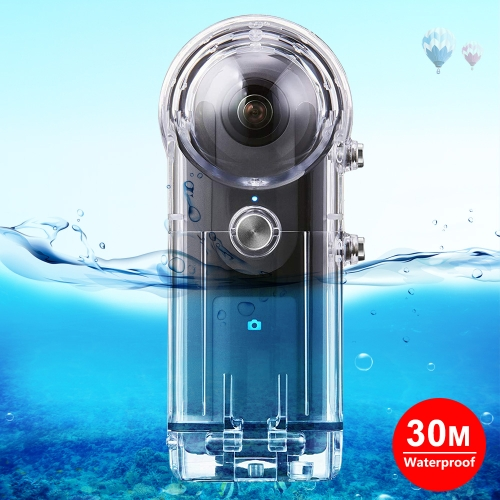 with Buckle Basic Mount /& Screw Durable CAOMING 30m Underwater Waterproof Housing Protective Case for Insta360 ONE X