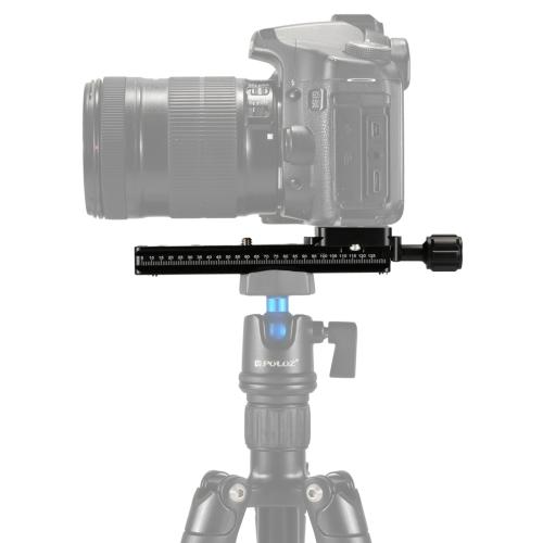 PULUZ FNR-140 Multi-Purpose 140mm Rail Nodal Slide Quick Release Plate