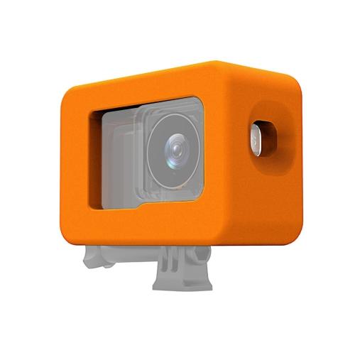 PULUZ Waterproof Case Floaty EVA Case for DJI Osmo Action(Orange)