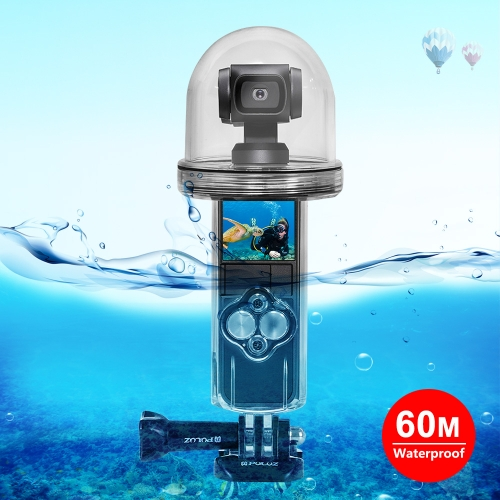 PULUZ 60m Underwater Waterproof Housing Diving Case Cover for DJI Osmo Pocket