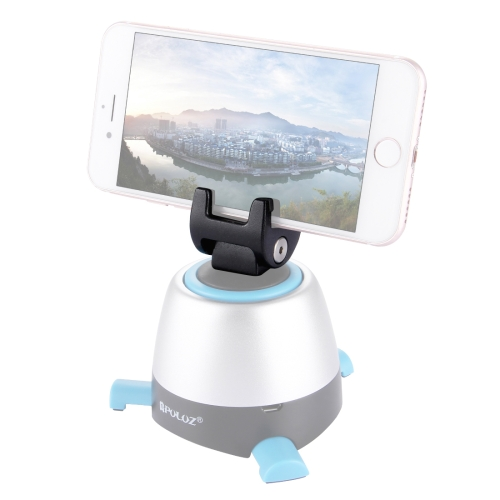 PULUZ Phone Mount Metal Clamp for 360 Degree Rotation Panoramic Head