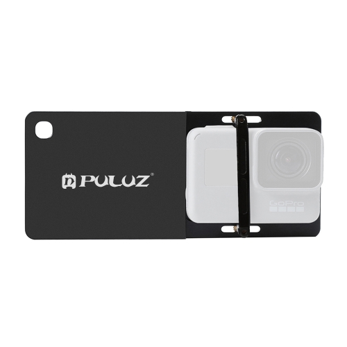 PULUZ Mobile Gimbal Switch Mount Plate for GoPro HERO NEW(2018) /HERO 8 black/7 /6 /5 /4 /3+ /3, DJI Osmo Action(Black)