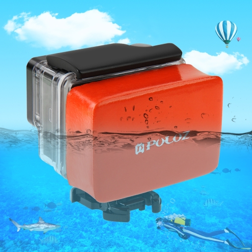 PULUZ Floaty Sponge with 3M Sticker for GoPro HERO6 /5 /5 Session /4 Session /4 /3+ /3 /2 /1, Xiaoyi and Other Action Cameras