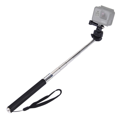 PULUZ Extendable Handheld Selfie Monopod for GoPro NEW HERO /HERO7 /6 /5 /5 Session /4 Session /4 /3+ /3 /2 /1, DJI Osmo Action, Xiaoyi and Other Action Cameras, Length: 22.5-100cm фото