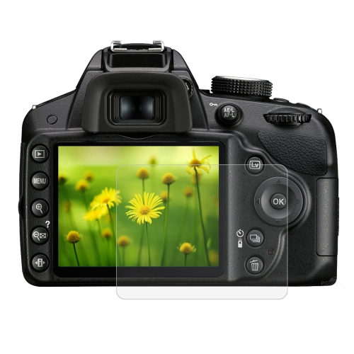 PULUZ 2.5D 9H Tempered Glass Film for Nikon D3200, Compatible with D3100 / D3300 / D3400 / AW130S / W300, Canon SX410 / SX400 / SX430 / SX510 / SX500 / SX530 / SX170, Pentax K50 / K30 / K5 / K7 / K-01 / Samsung WB10