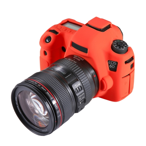 Color : Red Soft Silicone Protective Case for Canon EOS 80D Durable