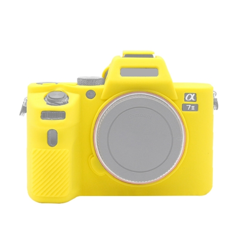 Color : Yellow Camouflage Camera Bags Cases Soft Silicone Protective Case for Sony A9 // ILCE-9