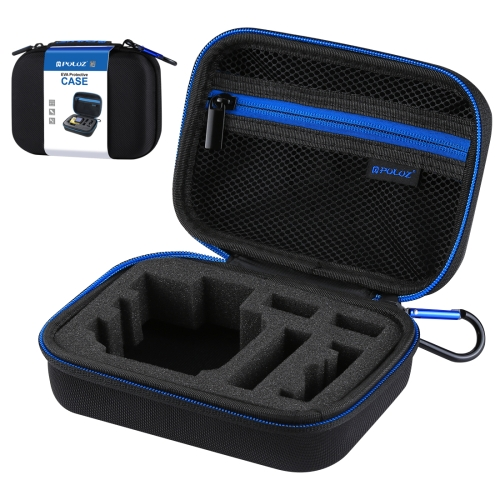 PULUZ Waterproof Carrying and Travel Case for GoPro HERO6 /5 /4 Session /4 /3+ /3 /2 /1, Puluz U6000 and other Sport Cameras Accessories, Small Size: 16cm x 12cm x 7cm(Black) фото