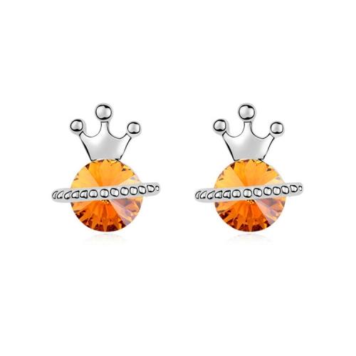 SUNSKY - Austrian Crystal Earrings - The Princess Diaries