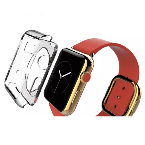 Transparent Crystal TPU Case for Apple Watch 42mm