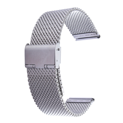 Buy For Apple Watch 42mm Milanese Classic Buckle Stainless Steel Watchband Replacement, Only Used in Conjunction with Connectors  (S-AW-3293 ) for $4.76 in SUNSKY store