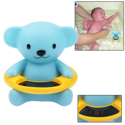 Buy Cute Cartoon Animal Baby Bath Water Thermometer Temperature Meter (Range: 34 °C -44 °C) for $2.57 in SUNSKY store