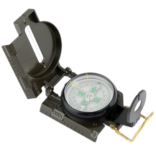 Buy Military Camping Navigation Lensatic Compass (Army Green) for $2.00 in SUNSKY store