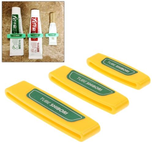 Sunsky 3 Pcs Versatile Tube Squeezer Toothpaste