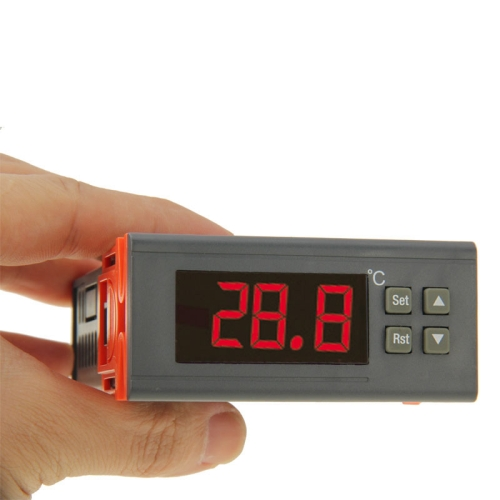 Buy RC-110M Digital LCD Temperature Controller Thermocouple Thermostat Regulator with Sensor Termometer, Temperature Range: -40 to 110 Degrees Celsius for $14.25 in SUNSKY store
