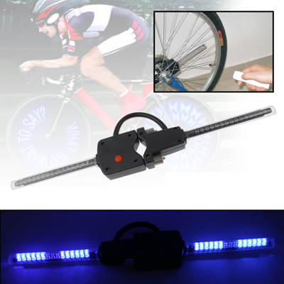 Hot PC Programmable Wireless LED Custom Message Bike Cycle Motor Wheel Lights