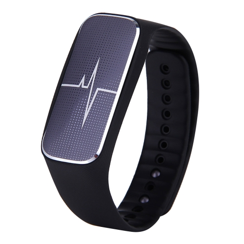 L18 Bluetooth 4.0 Smart Bracelet, Support Pedometer / Mood / Blood Pressure / Heart Rate Monitor / Sleep Monitor / Fatigue State, Black