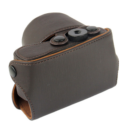 Buy Digital Leather Camera Case Bag with Strap for Sony NEX-3N, Coffee for $6.09 in SUNSKY store