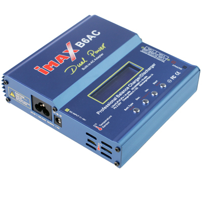 Buy iMAX B6AC 2.6 inch LCD RC Lipo Battery Balance Charger (100-240V / EU Plug), Blue for $20.94 in SUNSKY store