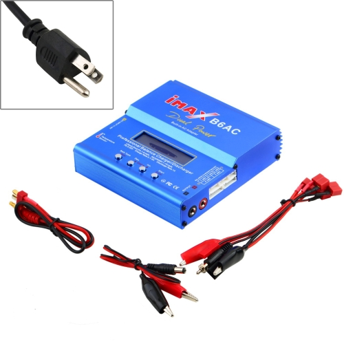 Buy US Plug iMAX B6AC Dual Power Lipo NiMH RC Battery Balance Charger Discharger, Blue for $21.01 in SUNSKY store