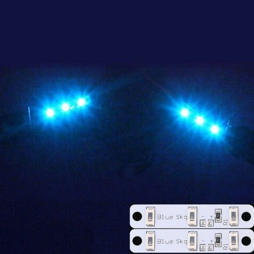 2 PCS LED Strips Light Board 3S for ZMR250 QAV250 Quadcopter FPV RC, Blue