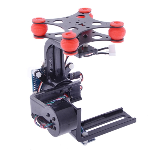 Buy HJ 2-Axis Camera Brushless Gimbal PTZ w/ BGC3.1 2-Axis Gimbal Controller for GoPro 3 / 2 / 1 FPV, Black for $64.02 in SUNSKY store