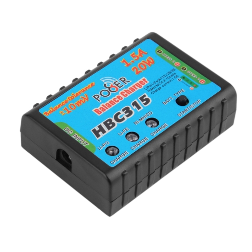 1.5A 20W Balance Charger for 2-3S Cells LiPo Battery