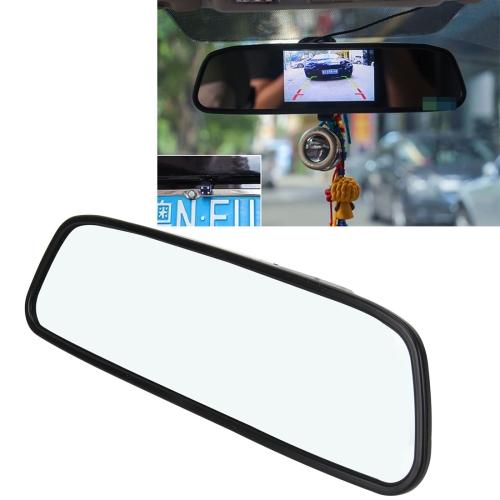 4.3inch HD 480*272 Car Monitor Color TFT LCD Mini Car Rear View Monitor Screen