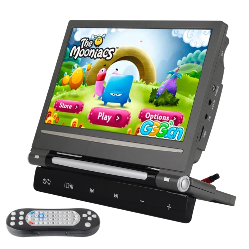 Buy CL-998 9 inch Digital Color LCD Screen Touch Button Headrest Car DVD Player with Remote Control for $88.92 in SUNSKY store