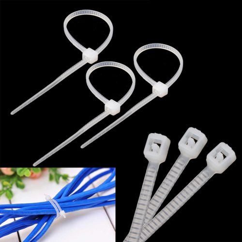Buy 10cm Self-Locking Nylon Cable Wire Zip Ties (1000pcs in one packing, the price is for 1000pcs), White for $2.97 in SUNSKY store