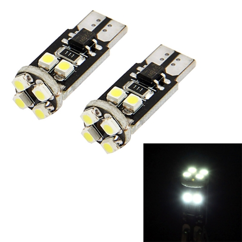 Buy T10 White 8 LED 3528 SMD CANBUS Car Signal Light Bulb, Pair for $1.42 in SUNSKY store