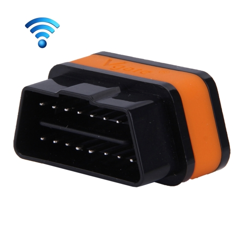 Buy Vgate iCar II Super Mini ELM327 OBDII WiFi Car Scanner Tool, Support Android & iOS, Support All OBDII Protocols (Orange + Black) for $18.93 in SUNSKY store
