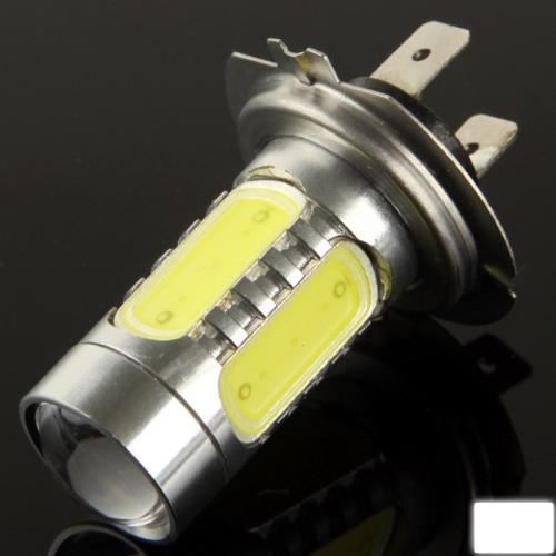 Buy H7 11W White LED Fog Light for Vehicles, DC 12-24V for $4.44 in SUNSKY store