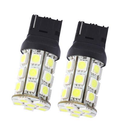 Buy 7440 White 27 LED Car Signal Light Bulb, Pair for $2.55 in SUNSKY store