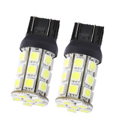 Buy 7443 White 27 LED Car Signal Light Bulb, Pair for $2.54 in SUNSKY store