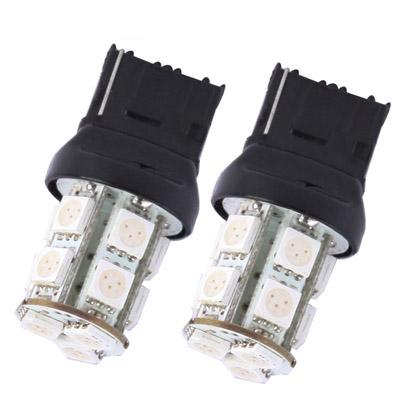 Buy 7440 White 13 LED Car Signal Light Bulb, Pair for $1.74 in SUNSKY store