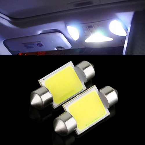 Buy 36mm 1.5W White LED Car Signal Light Bulb, Pair for $1.21 in SUNSKY store