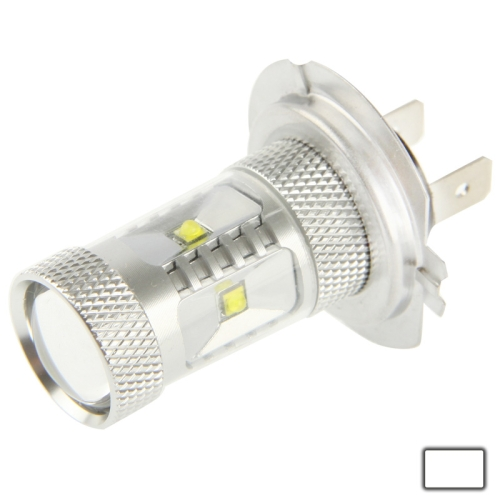 Buy H7 30W White 6 CREE LED Fog Light for Vehicles, DC 12-24V for $4.44 in SUNSKY store