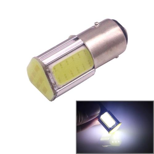 Buy 1157 4.5W 240LM White Light 4 LED COB Car Brake Light Steering Light Bulb, DC 12-24V for $1.36 in SUNSKY store