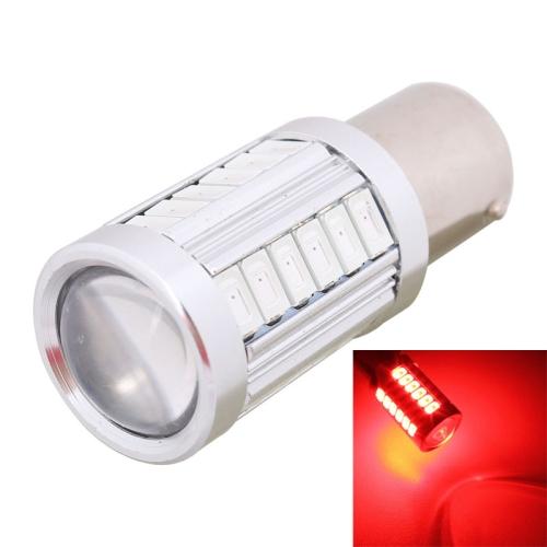 Buy 2PCS 1156 16.5W 1155LM 630-660nm 33 LED SMD 5630 Red Light Car Brake Light Lamp Bulb for Vehicles, DC12V (Red Light) for $3.47 in SUNSKY store